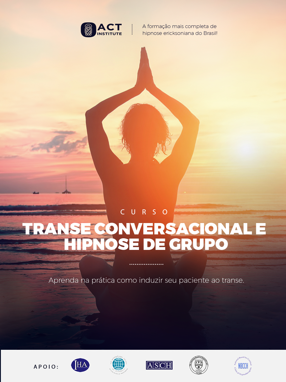 Módulo Avançado de Hipnose Ericksoniana   Transe Conversacional   ACT Institute